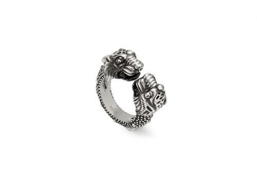 Gucci's Siamese Snake Tiger Head Ring Is Now up for Grabs