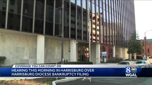 Diocese of Harrisburg in court for first bankruptcy hearing