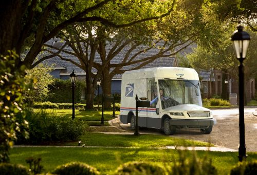 USPS unveils new mail carrier trucks