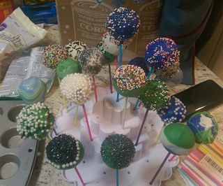 Cake Pops! a Second Iteration
