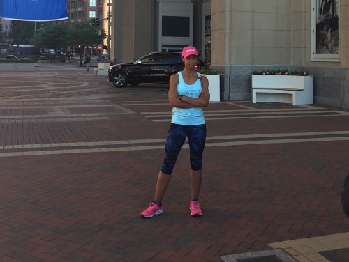 383 miles to go! Woman running in support of cancer research