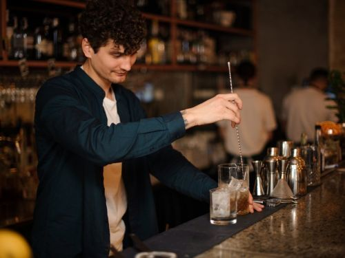 A new perk for the wealthy, right in their own apartment buildings: resident-only restaurants and drinks on the house in private bars