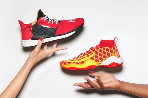 """Pharrell & adidas Bring Good Fortune with """"Chinese New Year Hu"""" pack"""