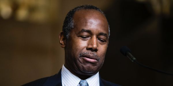 HUD Secretary Ben Carson ridiculed transgender women as 'big, hairy men' trying to infiltrate women's shelters, leaving staffers horrified