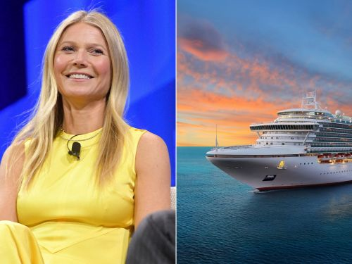 Gwyneth Paltrow and Celebrity Cruises are launching a wellness-themed 'Goop at Sea' trip