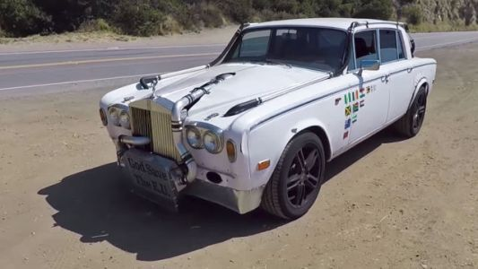 This Rat Rod Rolls-Royce Is The Sequel To The 'Zero Fucks Given RX7'