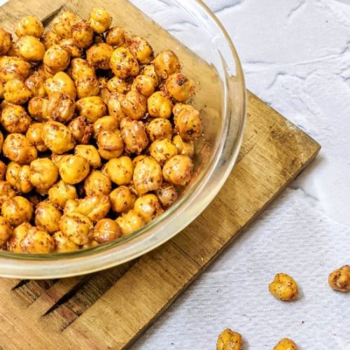 Crispy Air fryer Chickpeas