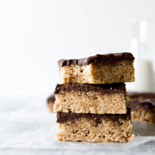 Salted Peanut Butter Scotcharoos