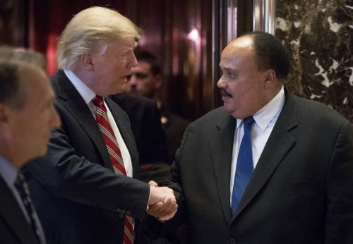 Martin Luther King III: Trump's comments are 'extremely racist'
