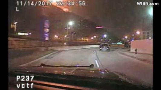 Dash cam video: High-speed chase that ended with 12-year-old arrested, 7 injured