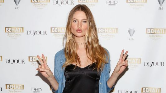 Behati Prinsloo's Epic Return To The VS Fashion Show Stage - And Adam Levine Was Front Row
