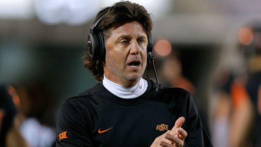Mike Gundy would treat son the same at Oklahoma State - 'even if I'm sleeping with your mom'