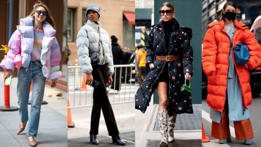Non-Basic Puffers Were a Street Style Essential on Day 6 of New York Fashion Week