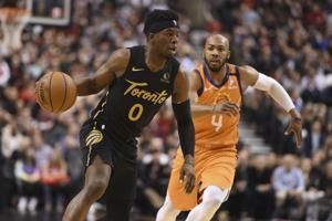 Raptors beat Suns 118-101 for 16th win in 17 games