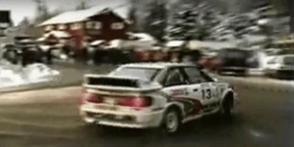 Watch This Audi S2 Rally Car Spin Like A Top