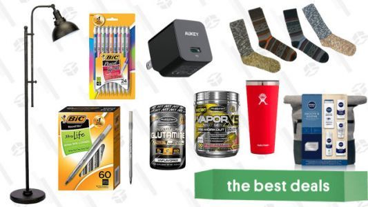 Wednesday's Best Deals: BIC Gold Box, Muscle Stimulator, REI, and More