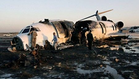 Iran plane crash amidst severe weather condition kills 65