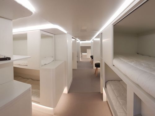Airbus wants to add bunk beds, playground slides, and hospital rooms to its new planes