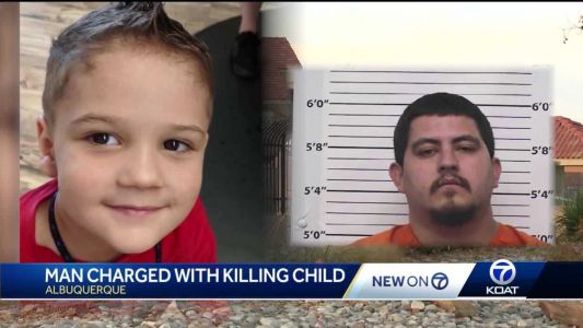 Albuquerque man charged with brutally beating 4-year-old boy to death