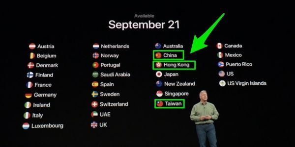 China angered by Apple's big iPhone event mentioning Taiwan, says it could hurt sales