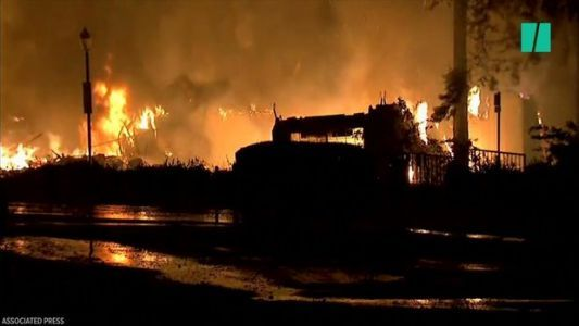 NorCal Fires Devastate Wine County
