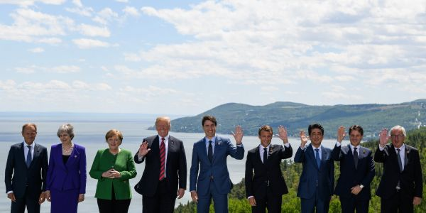 Trump reportedly claimed to leaders at the G7 that Crimea is part of Russia because everyone there speaks Russian