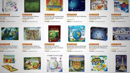 Save On Board Games and Puzzles For The Holidays, Including a 40,320 Piece Mickey Puzzle