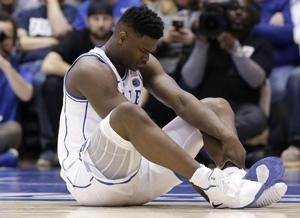 Zion's freak injury ripples in basketball, business worlds