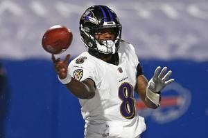 Lamar Jackson ruled out of Ravens playoff game vs. Bills after failing to clear concussion protocol