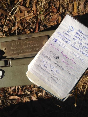 Melbourne's 1st - Geocache of the Week