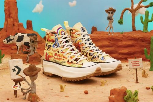 "Converse Uses Extra-Terrestrial Desert Scenes for ""Twisted Resort"" Collection"