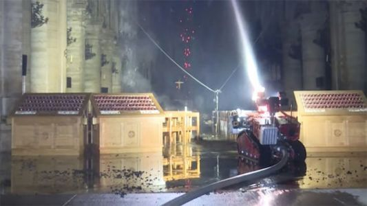Meet Colossus: The French Firefighting Robot That Helped Save Notre-Dame