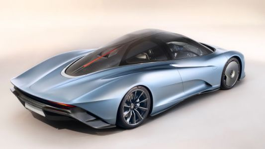 The 2019 McLaren Speedtail Has Flexible Carbon Fiber That Bends and It Goes 250 MPH