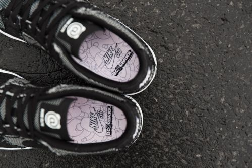 """A Better Look at the Medicom Toy x Nike SB Zoom Dunk Elite """"BE RBRICK"""""""