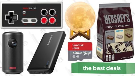 Saturday's Best Deals: Nebula Capsule II Projector, Moon Lamp, Last Minute Chocolate, and More