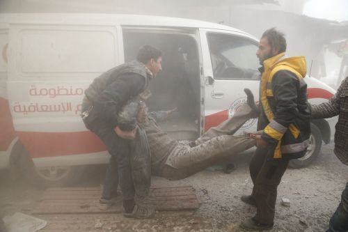 The US is warning that it'll strike the Syrian regime hard if they use chemical weapons again
