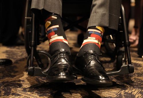 George H.W. Bush's socks are a perfect tribute to his wife