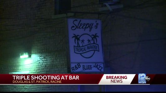 Triple Shooting outside of Racine bar