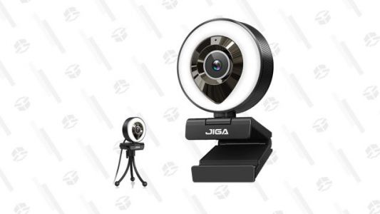 This HD Ring Light Webcam Is Just $30 When You Stack These Coupons