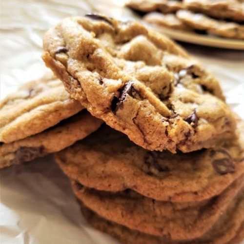 Browned Butter Chewy Cookies