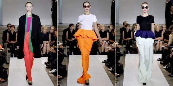 When Raf Simons Brought Colour & Volume to Jil Sander S/S11