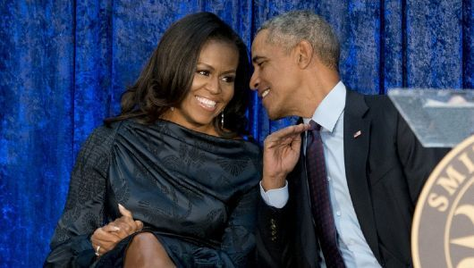 Michelle Obama dedicates Valentine's Day playlist to Barack Obama