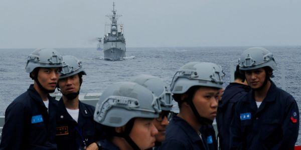 Under rising pressure from China, Taiwan is stocking up on naval weapons