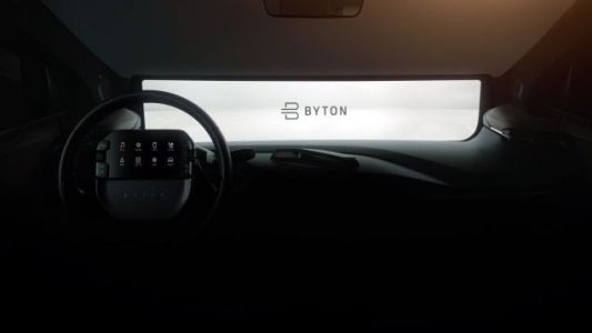 EV Startup Byton Is Really Doing the Steering Wheel-Mounted Tablet