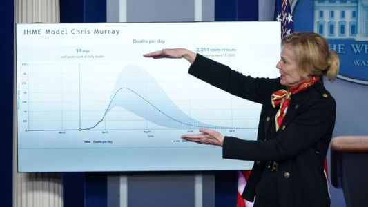 READ: White House Presentation Warning Of At Least 100,000 Projected Deaths In U.S
