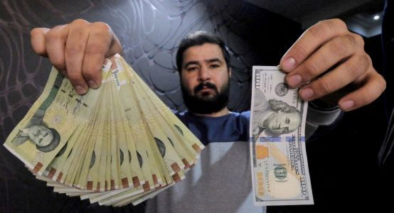 Iran's rial tanks as Trump weighs pulling out of the nuclear deal with Tehran