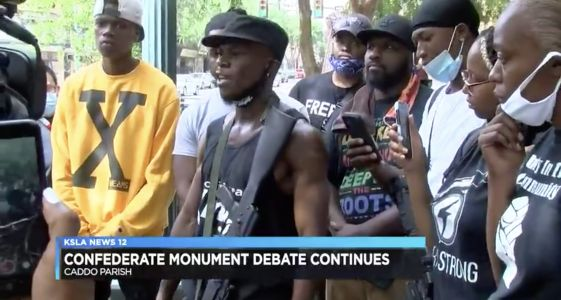 Armed Black Men Show Up To Hearing On Confederate Statues To Protect Black Woman