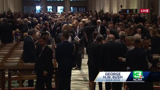 The Riggs Report: Former Presidents, World Leaders Attend Bush's State Funeral
