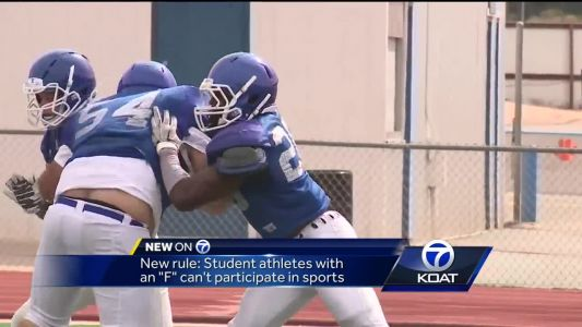 New Rule keeps failing student athletes off the field
