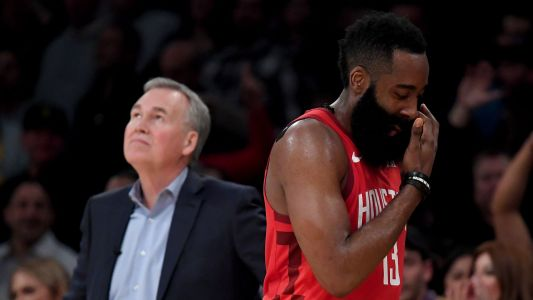 Here's why NBA denied Rockets' protest despite referees botching call on James Harden's dunk